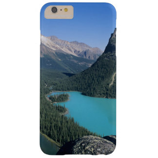 Hiker overlooking turquoise-colored Lake Barely There iPhone 6 Plus Case