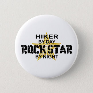 Hiker Rock Star by Night 2 Inch Round Button