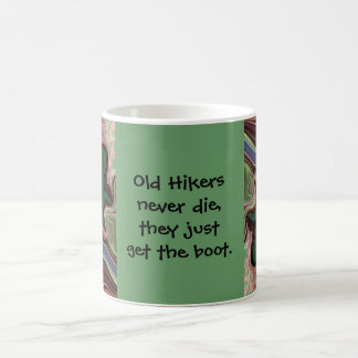 hikers funny mug