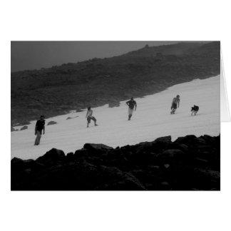 Hikers on Nadina Mountain Card