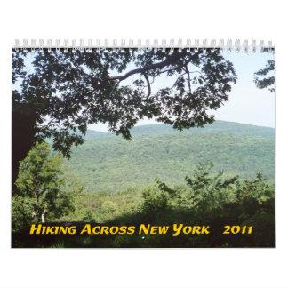Hiking Across New York 2011 Calendar