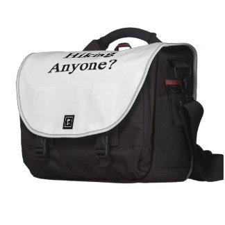 Hiking Anyone Laptop Messenger Bag