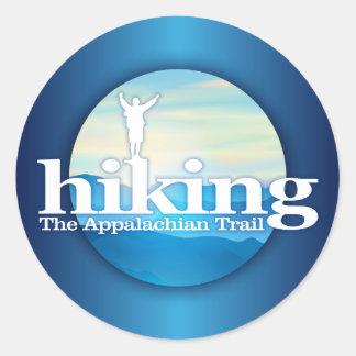 Hiking (Appalachian Trail) Round Sticker