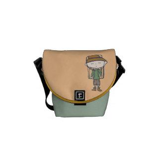 HIKING Babe Messenger bag