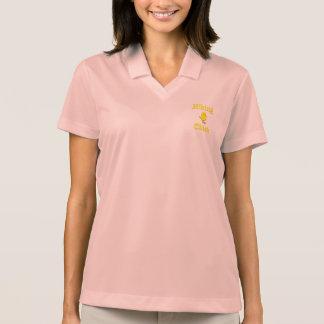 Hiking Chick Polo T-shirts