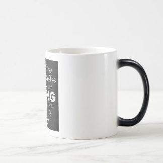 Hiking, coffee and call me sexy magic mug