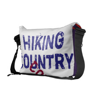 Hiking country music commuter bag