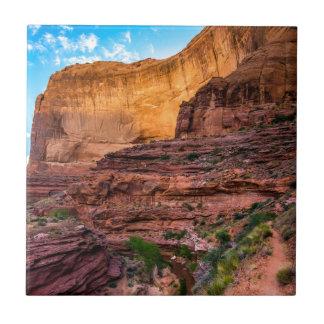 Hiking Coyote Gulch - Utah Ceramic Tile