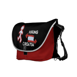 Hiking Croatia Courier Bag