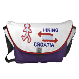 Hiking Croatia Messenger Bags