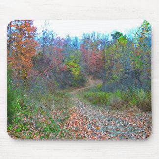 Hiking Deep Into The Woods Mouse Pad