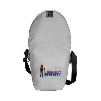 Hiking Girl Messenger Bag