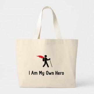 Hiking Hero Jumbo Tote Bag