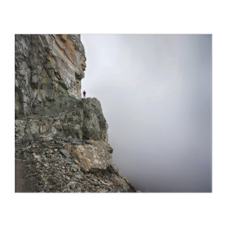 Hiking in the Clouds Acrylic Wall Art