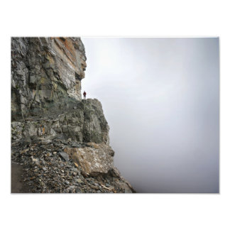 Hiking in the Clouds Photo Print