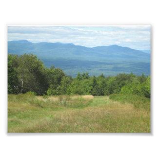 Hiking in upstate New York Photo Print