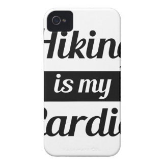 Hiking is My Cardio Case-Mate iPhone 4 Cases