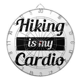 Hiking is My Cardio Dartboard