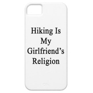 Hiking Is My Girlfriend's Religion iPhone 5 Cover