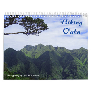 Hiking Oahu Calendar