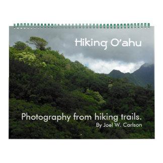 Hiking Oahu Wall Calendar