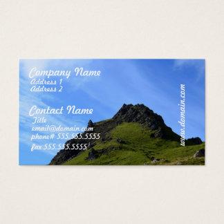 Hiking on Skye Business Card