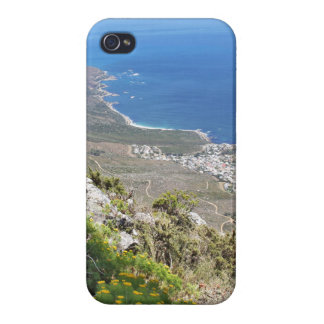 Hiking on Table Mountain- View over Camp's Bay iPhone 4/4S Cover