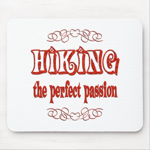 Hiking Passion Mouse Pads