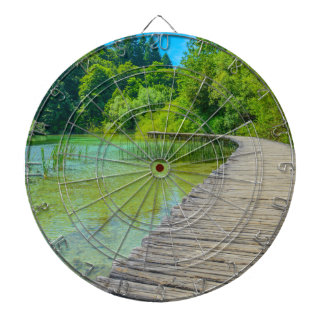 Hiking Path in Plitvice National Park in Croatia Dartboards