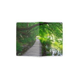 Hiking Path in Plitvice National Park in Croatia Passport Holder
