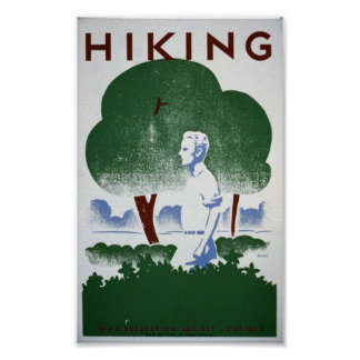 Hiking Poster