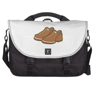 Hiking Shoes Laptop Messenger Bag