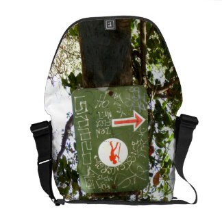 Hiking Sign Courier Bags