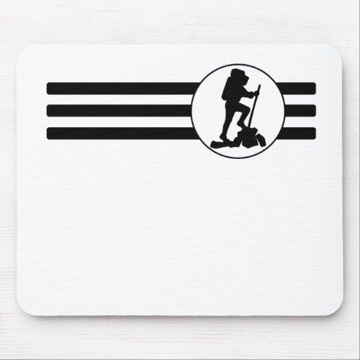 Hiking Stripes Mousepads