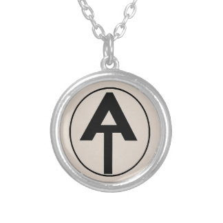 Hiking the Appalachian Trail Silver Plated Necklace