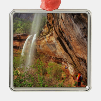 Hiking The Emerald Pools Trail in Zion National Metal Ornament