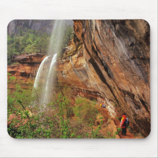 Hiking The Emerald Pools Trail in Zion National Mouse Pad