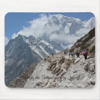 Hiking the Nepali Himalayas Mousepad