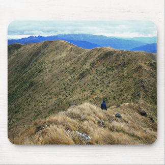 Hiking the Wild New Zealand Wilderness Mouse Pad