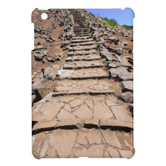 Hiking trail leading up the mountain on Madeira iPad Mini Cases