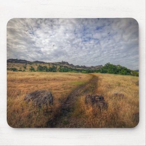 Hiking Trail Mouse Pad