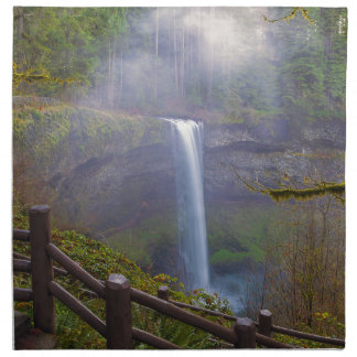 Hiking Trails at Silver Falls State Park Napkin