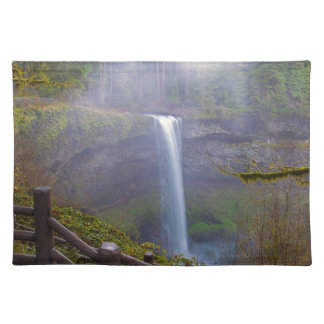 Hiking Trails at Silver Falls State Park Placemat