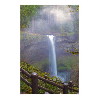 Hiking Trails at Silver Falls State Park Stationery