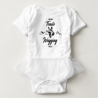 Hiking Trails Wagging Tails Baby Bodysuit