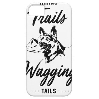 Hiking Trails Wagging Tails Case For The iPhone 5