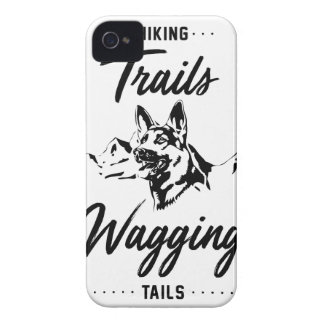 Hiking Trails Wagging Tails iPhone 4 Case