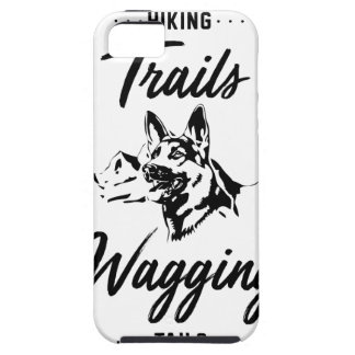 Hiking Trails Wagging Tails iPhone 5 Case