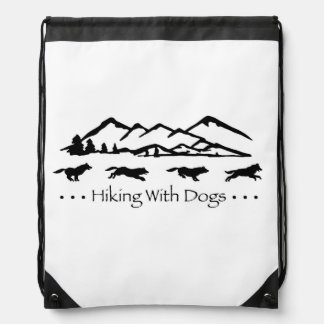 Hiking With Dogs SlingBag-Husky Backpack