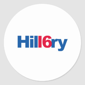 HIL16RY - CLASSIC ROUND STICKER